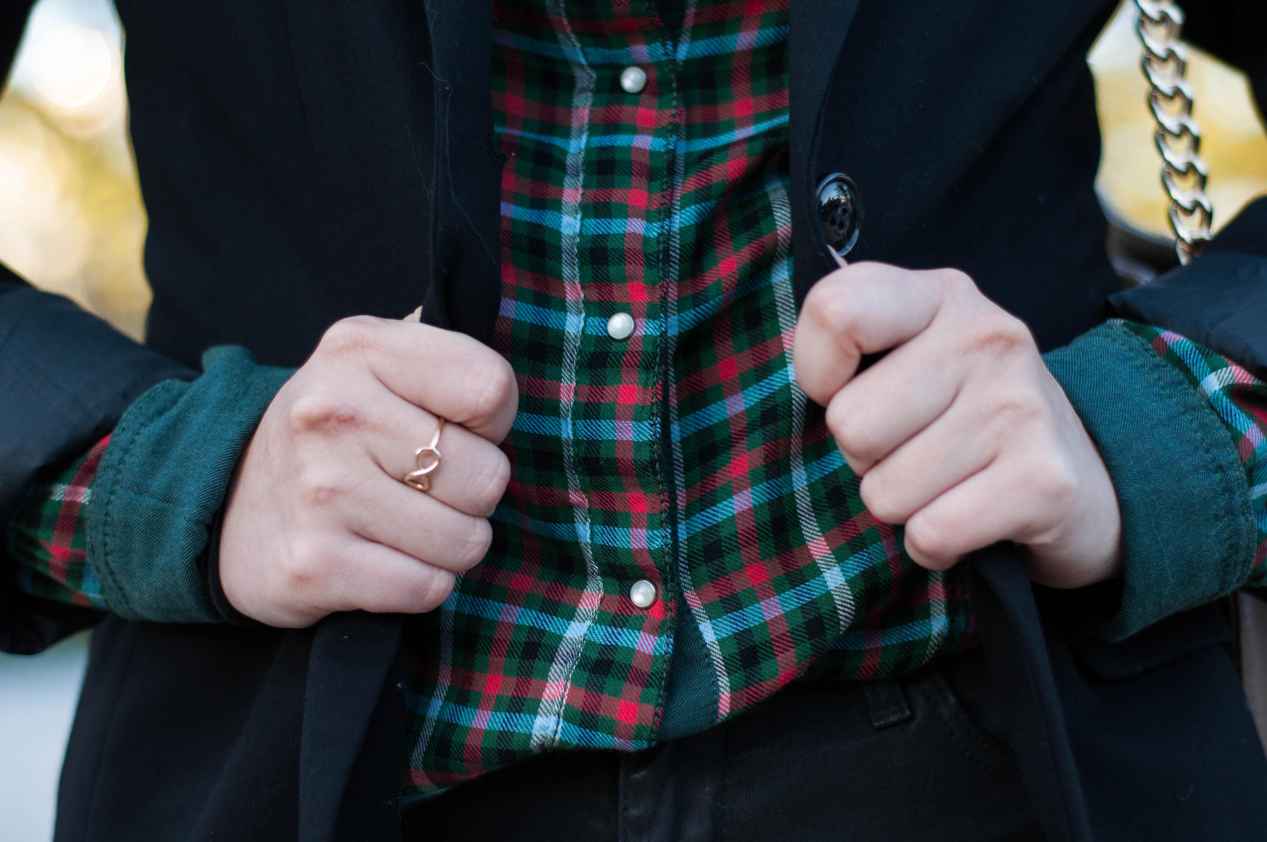 Look du jour : La chemise à carreaux